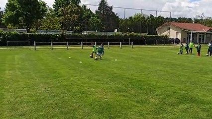 Entraînement école de foot