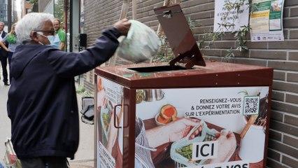 Paris : des bornes à compost installées dans le XIIIe arrondissement