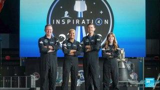 Tourisme spatial : quatre Américains décollent pour un voyage en orbite