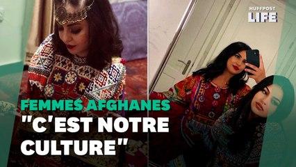 Ces Afghanes se rebellent contre les talibans en partageant leurs tenues traditionnelles