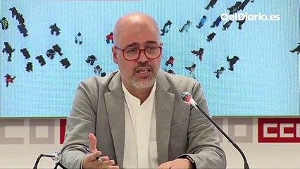 CCOO dice que no hay acuerdo cerrado sobre la subida del SMI
