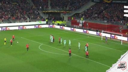 Les 4 derniers buts rennais inscrits face aux clubs anglais en Coupe d'Europe