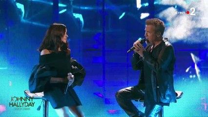 """Jenifer et Florent Pagny chantent """"J'oublierai ton nom"""" en hommage à Johnny Hallyday"""