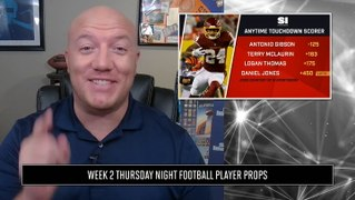 Week 2 Thursday Night Football Player Props