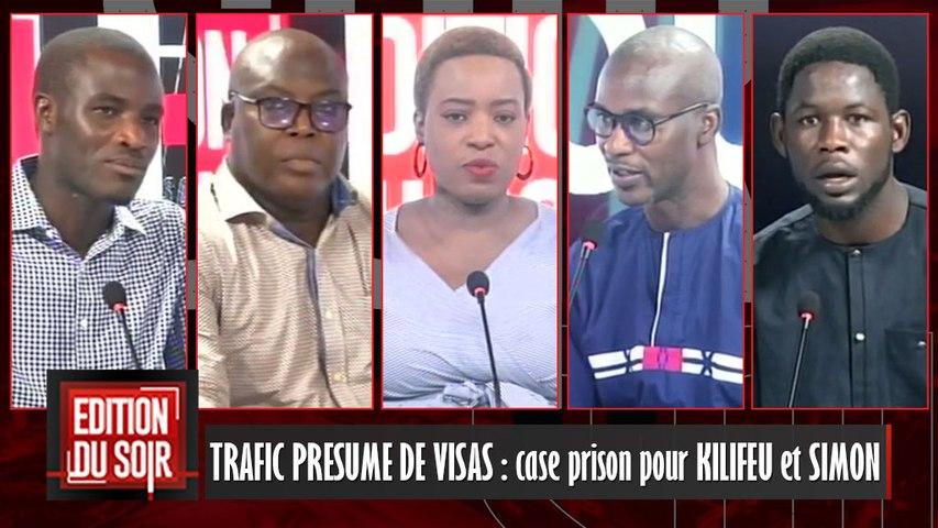 [Edition du Soir] TRAFIC PRESUME DE VISAS : case prison pour KILIFEU et SIMON