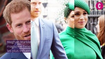Meghan Markle et le prince Harry sont en Une du Time