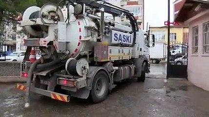 Samsun'da sağanak nedeniyle 2 okulu su bastı