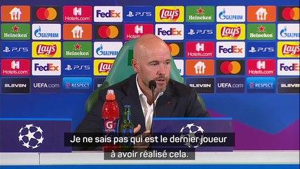 """Erik Ten Hag sur le quadruplé de Sébastien Haller : """"C'est quelque chose d'extraordinaire"""""""
