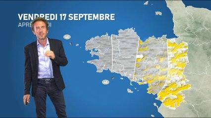 Bulletin météo pour le vendredi 17 septembre 2021