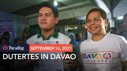 Sara Duterte, Baste to seek reelection as Davao City mayor, vice mayor