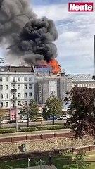 Riesige Rauchsäule über Wien: Feuerwehr im Großeinsatz