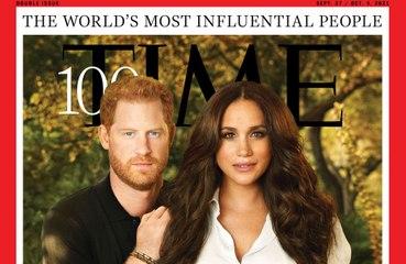 ヘンリー王子夫妻、「世界で最も影響力のある100人」に