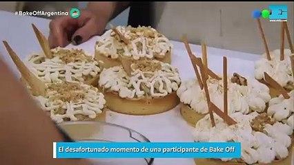 El desafortunado momento de una participante de Bake Off