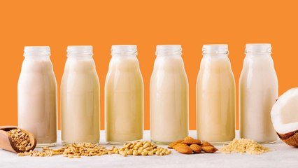 The 7 Healthiest Milks, According to a Dietitian
