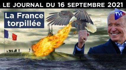 Industrie, souveraineté : La France touchée coulée ? - JT du jeudi 16 septembre 2021