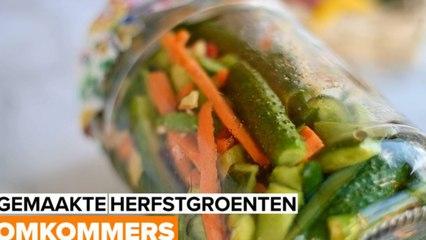 Ingemaakte herfstgroenten: Kimchi Komkommers