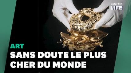 """Un """"avocado toast"""" en or à 3 millions d'euros, l'""""hommage aux Millennials"""" de cet artiste"""