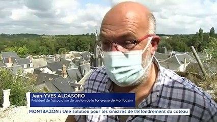 MONTBAZON / Une solution pour les sinistrés de l'effondrement du coteau
