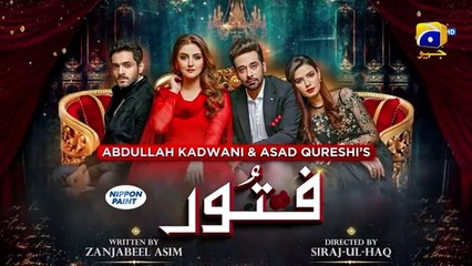 Fitoor - 2nd Last EP 48 - English Subtitle - 17th September 2021 - HAR PAL GEO