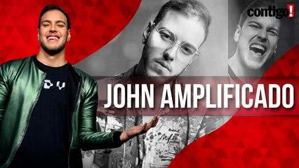 JOHN AMPLIFICADO FALA SOBRE NOVA MÚSICA, 'REPLAY', E SUA TRAJETÓRIA NA MÚSICA