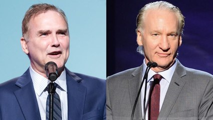 Bill Maher Commends Norm Macdonald for Keeping Cancer Battle Private | THR News