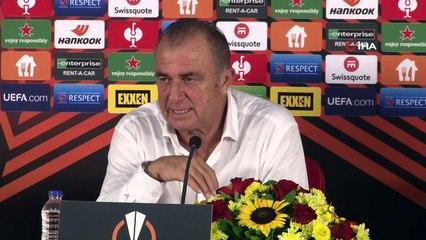 Fatih Terim İtalyanca Konuştu: Lazio Maçı Sonrası Muhabir Sordu Fatih Terim İtalyanca cevapladı