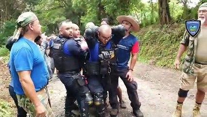 Así fue el rescate de Maynor Álvarez, el hombre que había desaparecido en Escazú