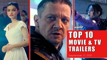 Top 10 Movie & TV Trailers on Fan Reviews | September 17, 2021 | Hawkeye & More