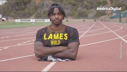 Zion Clark, el joven que nació sin piernas e impuso un Récord Guinness corriendo solo con sus manos