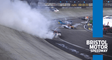 Austin Hill crashes late in elimination race at Bristol