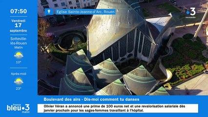 17/09/2021 - Le 6/9 de France Bleu Normandie en vidéo