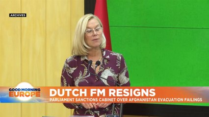 Second Dutch minister resigns over Afghanistan evacuations