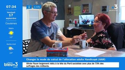 17/09/2021 - Le 6/9 de France Bleu Maine en vidéo