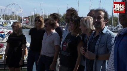 Festival de la fiction de La Rochelle : jour 3, Franck Dubosc fait le show et Julie Gayet prend la pose !
