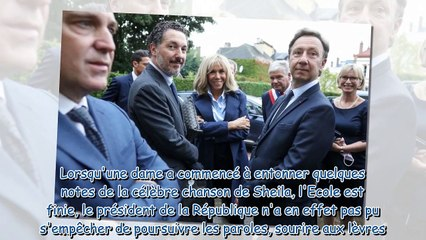Brigitte Macron - cette pièce automnale bien choisie pour sa dernière sortie avec Emmanuel Macron