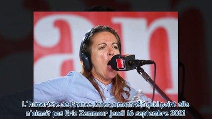 Charline Vanhoenacker - pourquoi l'humoriste de France Inter est-elle accusée d'antisémitisme par l'