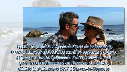 Laeticia Hallyday et Jalil Lespert - comment l'hommage à Johnny a créé des tensions dans leur couple