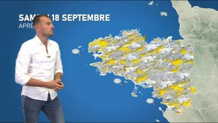 Bulletin météo pour le samedi 18 septembre 2021