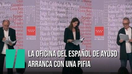 La Oficina del Español de Toni Cantó arranca con una pifia: mira bien la imagen