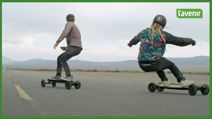 Le test du Bambou GTR, le skate électrique