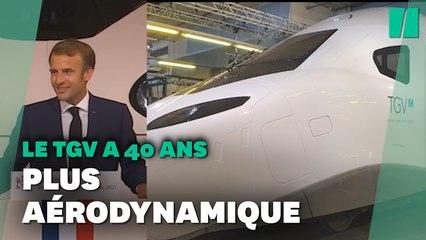 À quoi ressemble le nouveau TGV M dévoilé par Macron