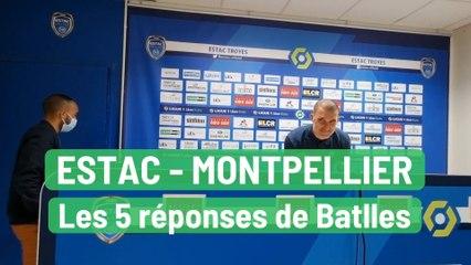 Estac-Montpellier : les 5 réponses de Laurent Batlles