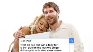 Ben Platt & Amandla Stenberg Answer The Web's Most Searched Questions