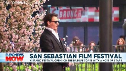 Johnny Depp and Marion Cotillard to be honoured at San Sebastian Film Festival