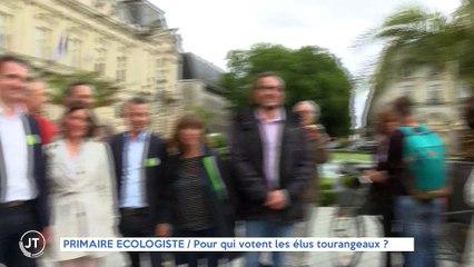 Le Journal - 17/09/2021 - PRIMAIRE ÉCOLOGISTE / Pour qui votent les élus tourangeaux ?