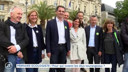PRIMAIRE ÉCOLOGISTE / Pour qui votent les élus tourangeaux ?