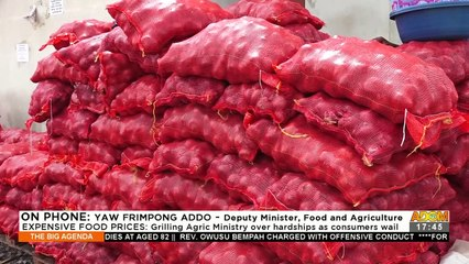 Grilling Agric Ministry over hardships as consumers wail -The Big Agenda (17-9-21)