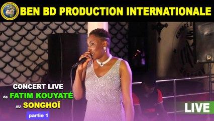 Concert Live de Fatim Kouyate au Songhoi du Golf Partie 1