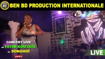 Concert Live de Fatim Kouyate au Songhoi du Golf Partie 4