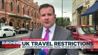 England simplifies 'traffic light' pandemic rules for international travel